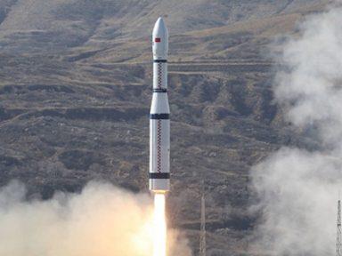 China coloca em órbita o primeiro satélite com tecnologia de comunicação 6G