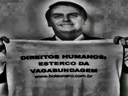Bolsonaro e seu sadismo reprimido pela tortura