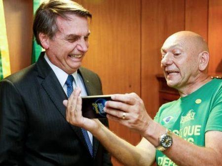 PGE pede quebra de sigilo de Hang por propaganda ilegal a favor de Bolsonaro
