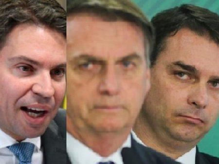 Bolsonaro usou Abin para pressionar Receita e encobrir crimes de Flávio