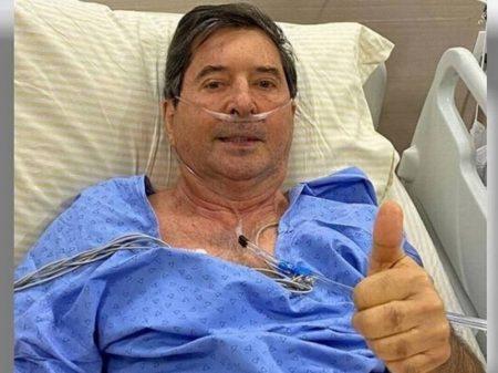 Maguito é empossado prefeito em recuperação contra Covid
