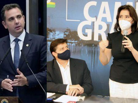 """Tebet denuncia """"arroubos autoritários"""" de Bolsonaro e se junta a Rossi por um parlamento independente"""