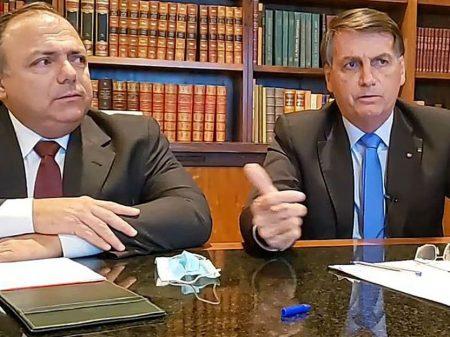 Ofício e aplicativo indicando cloroquina mostram que Pazuello mentiu