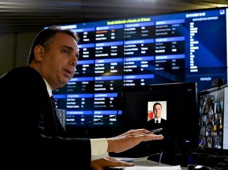PDT declara apoio a Rodrigo Pacheco para a presidência do Senado