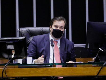 """Bolsonaro é covarde"", afirma o presidente da Câmara"