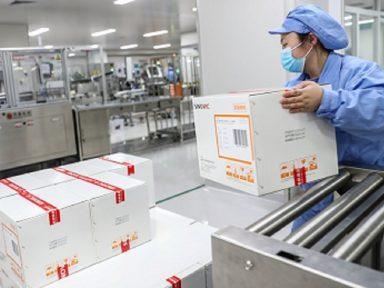 Produção da vacina Coronavac é ampliada para atender demanda mundial