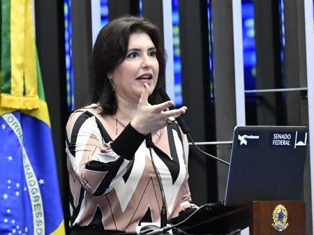 MDB lança Simone Tebet na defesa de um Senado independente