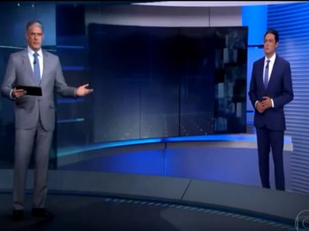 """""""Estamos nos esgrimando com loucos"""", afirma Bonner, ao rebater Jair Bolsonaro"""