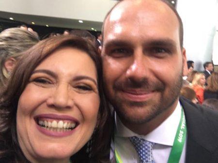 Bolsonarista Bia Kicis se aliou a bandido que atacou STF