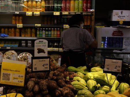 Ipea: inflação dos alimentos continua em alta