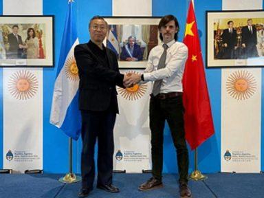"Embaixador da Argentina destaca solidariedade chinesa como ""chave contra pandemia"""