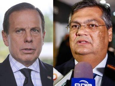 """Governadores reagem à ameaça de Bolsonaro: provará sua """"inutilidade"""", diz Flávio Dino"""