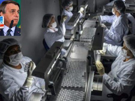 Responsável pela tragédia e pelo atraso na vacinação, Bolsonaro ataca o Butantan