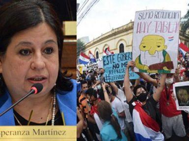 """""""Levante dos paraguaios vem para tirar o governo e garantir a vacina"""", afirma senadora"""