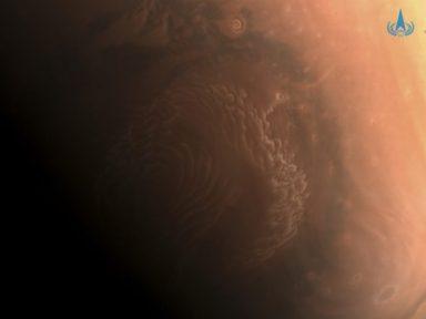 China divulga imagens de alta resolução de Marte da sonda Tianwen-1