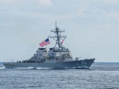 """China questiona presença dos EUA em Taiwan: """"Nossos navios vão ao Golfo do México?"""""""
