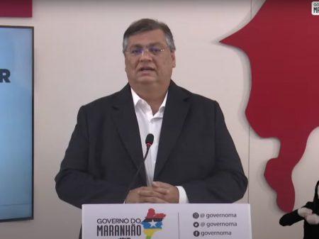 Flávio Dino anuncia vacinação para profissionais de educação