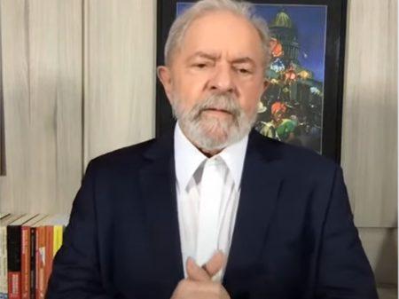 Lula, em entrevista, afirma que prioridades são as vacinas e o auxílio emergencial, não as eleições