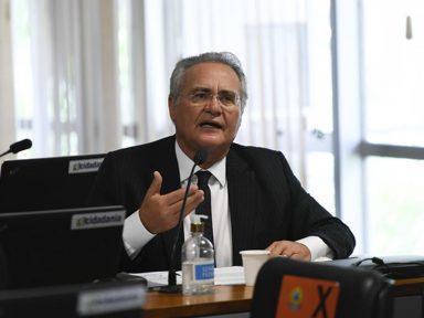 """Renan: """"se Bolsonaro diz que não errou, não precisa ter sobressalto com a CPI da Covid"""""""