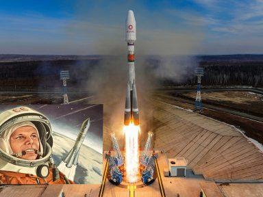Novo foguete russo homenageia os 60 anos do envio de Gagarin ao espaço