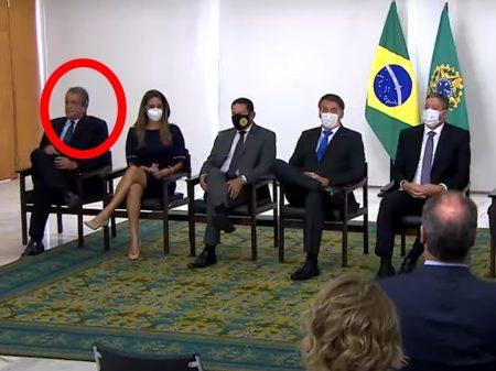 Planalto convida e depois apaga foto do presidente do PL, condenado por corrupção