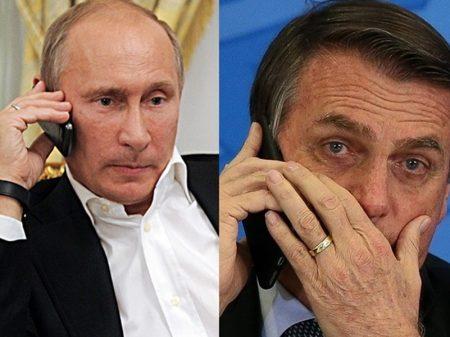 Conversa de Bolsonaro com Putin: manobra para barrar importação da Sputnik V pelos governadores do NE?