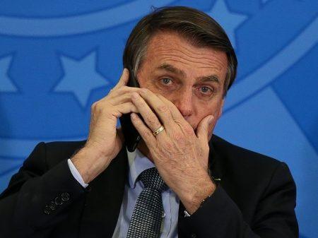 Bolsonaro é flagrado em conspiração contra o Senado e o STF para mudar o foco da CPI