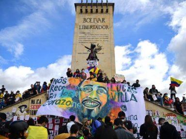 Colombianos nas ruas contra arrocho e por justiça para jovem executado