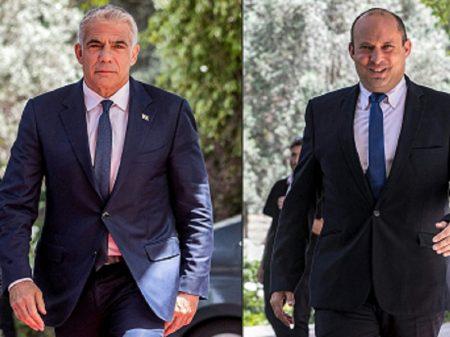 Acordo Lapid-Benett busca formar governo sem Netanyahu