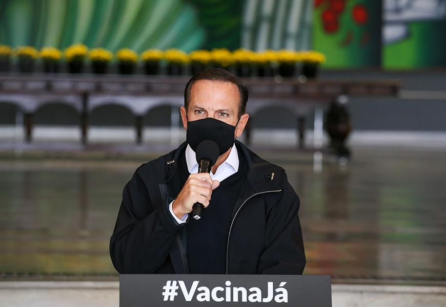 Doria critica Queiroga por Ministério não distribuir vacina no feriado