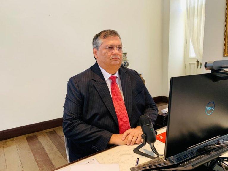 Flávio Dino participa do lançamento do Programa Nacional de Prevenção à Corrupção no MA