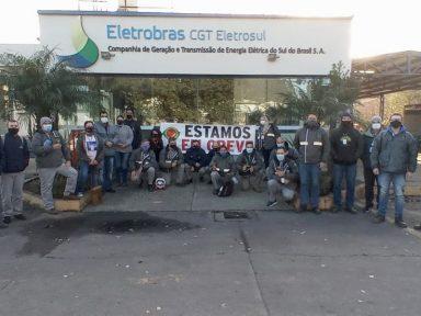 """Em greve, funcionários da Eletrobrás denunciam """"pilhagem ao patrimônio público"""""""