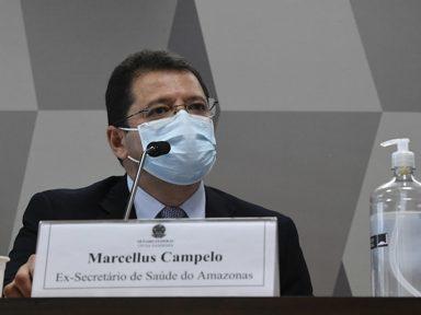 Pazuello foi procurado antes da crise do oxigênio, diz ex-secretário do AM à CPI