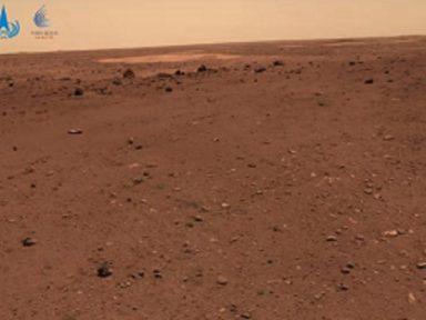 China divulga novas fotos de Marte tiradas por seu veículo Zhurong