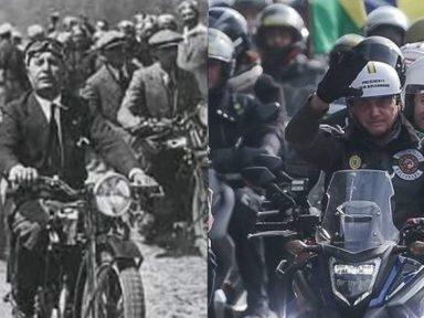 """""""Motociata"""" de Bolsonaro: subversão, baderna e autuação"""