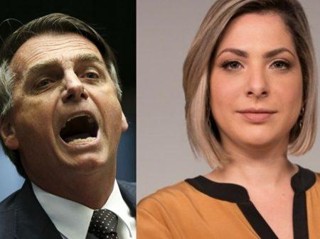 """Acostumado a agredir mulheres, Bolsonaro chama jornalista da CNN de """"quadrúpede"""""""
