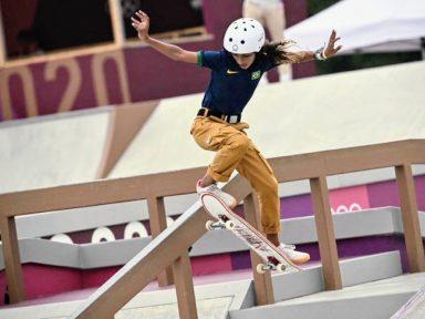 Rayssa Leal, a mais jovem medalhista olímpica do Brasil