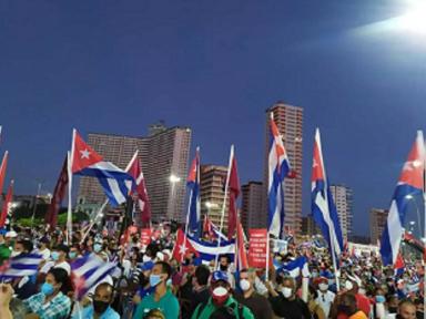 """""""Pelo fim da Guerra Fria,  deixem Cuba viver"""",  exige o chanceler Rodríguez"""