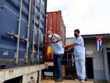 Solidariedade a Cuba na pandemia: México envia navios com seringas e combustível