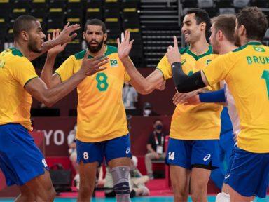 Em virada espetacular, Brasil vence Argentina no vôlei olímpico