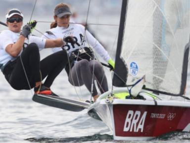 Martine Grael e Kahena Kunze vencem na vela e são bicampeãs olímpicas