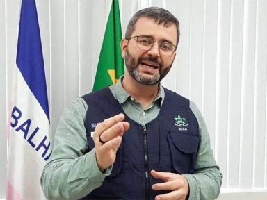 """Secretário de Saúde do Espírito Santo defende volta às aulas """"para garantir o futuro dos jovens"""""""