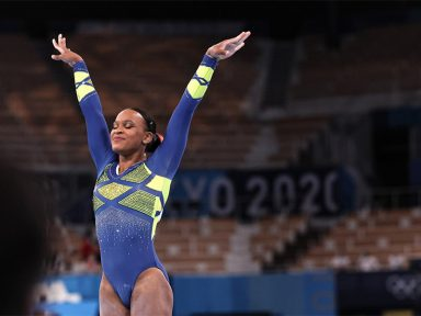 Com duas medalhas, Rebeca Andrade fez história nas Olimpíadas de Tóquio