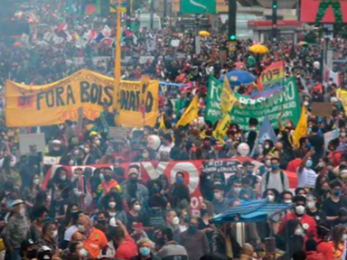 """Movimento """"Fora Bolsonaro"""" convoca ato no '7 de Setembro' e aguarda decisão da Justiça"""