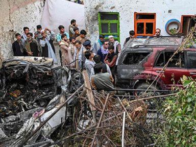 EUA confessam seu último crime de guerra ao deixar Cabul: eram civis os dez mortos pelo drone
