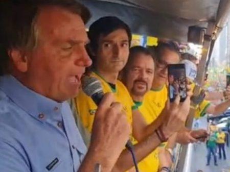 Fala golpista de Bolsonaro derruba Bolsa