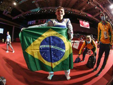 Com quatro ouros, Brasil retoma 6ª colocação nas Paralimpíadas de Tóquio