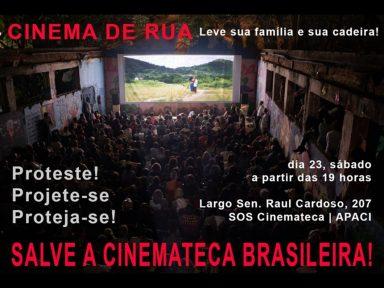 Cineastas e funcionários pedem reativação imediata da Cinemateca Brasileira