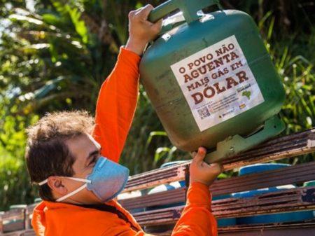 Preço do botijão de gás é o mais caro deste século